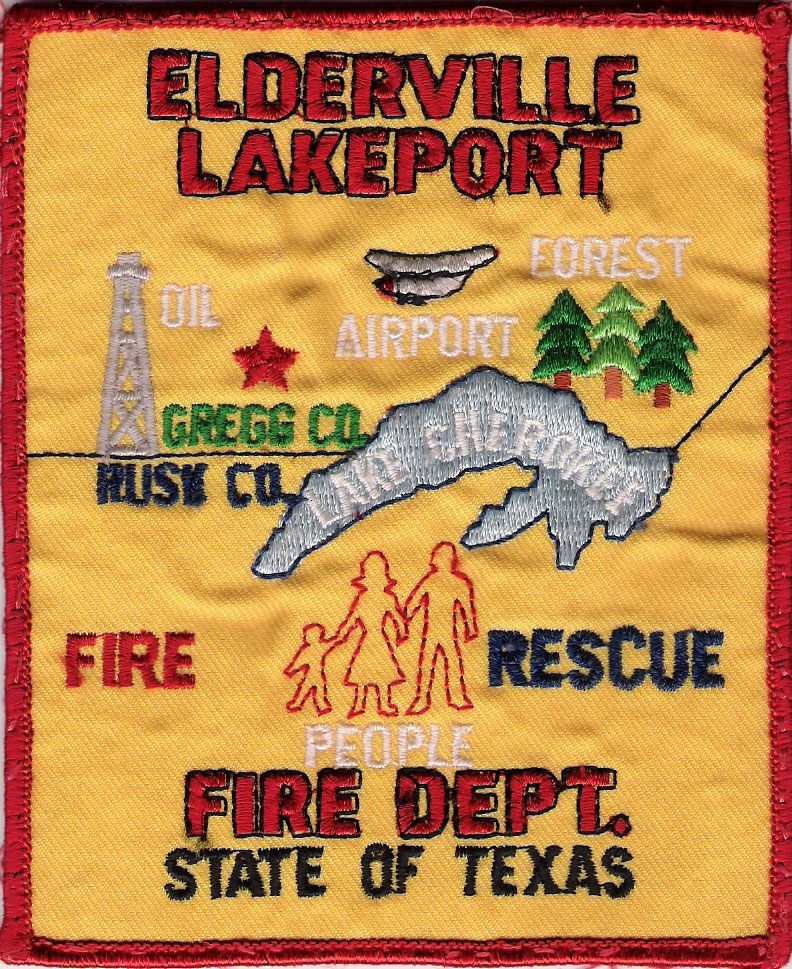 Elderville Lakeport VFD Second Patch