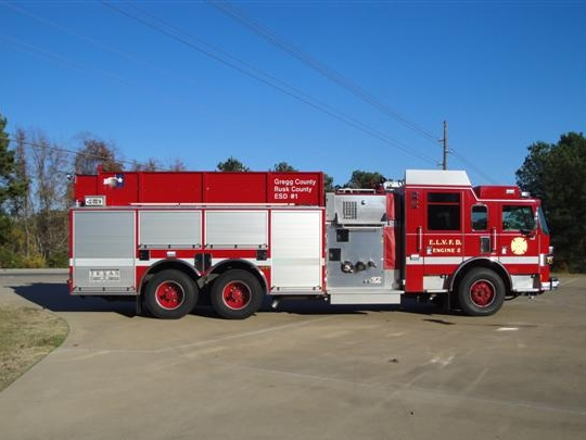 Elderville Lakeport VFD - Engine 2